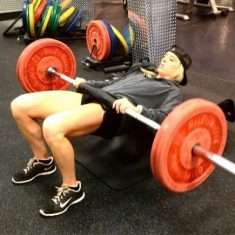 Exercise of the Week: Barbell Hip Thrust
