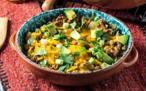 Keto Southwest Burrito Bowl