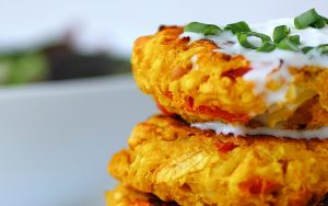 Vegan Cauliflower Chickpea Patties