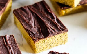 Chocolate Pumpkin Protein Squares