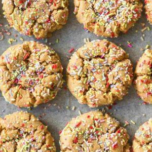 Confetti Protein Cookies
