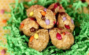 Peanut Butter Oatmeal Eggs