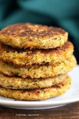 CAULIFLOWER CHICK PEA PATTIES