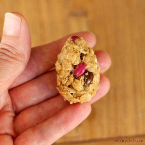 Oatmeal Peanut Butter Eggs 2