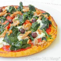 SIMPLE PROTEIN PIZZA CRUST