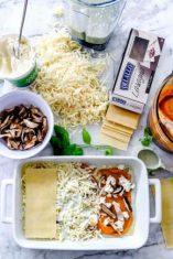Butternut Squash Mushroom Lasagana foodiecrush.com 006 e1590962947793
