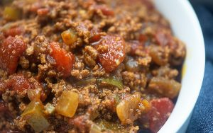 Chili Low Carb and Keto