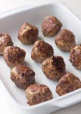 low carb oven meatballs 435x612 1
