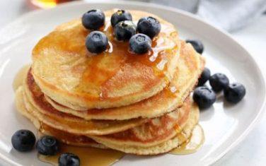 Almond Flour Protein Pancakes