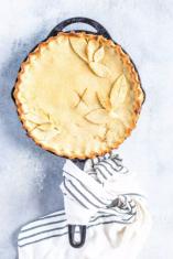 Apple Pie Keto Low Carb whole pie