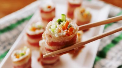 Bacon Sushi Keto