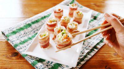 Bacon Sushi Keto 21