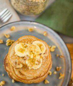 Banana Oatmeal Pancake scaled e1591993120828