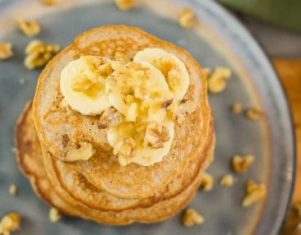 Banana Oatmeal Pancakes Low Carb