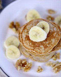 Banana Oatmeal Pancakes scaled