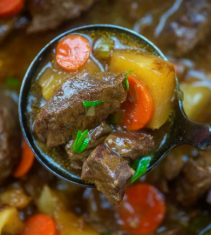 Beef Stew Low Carb Keto 3.