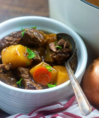 Beef Stew Low Carb Keto.