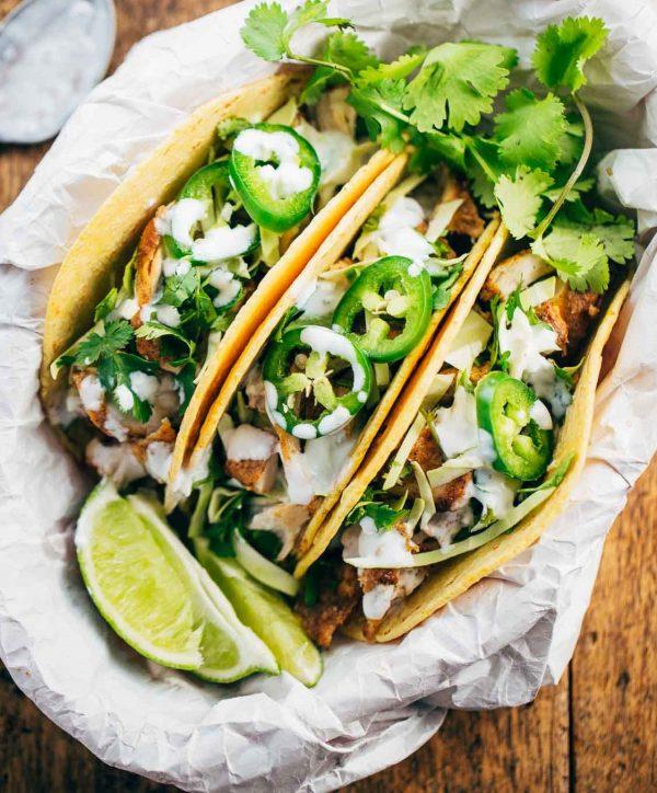 Chicken Tacos High Protein