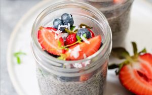 Easy Chia Seed Pudding High Protein