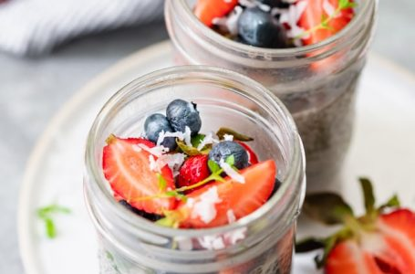 Easy Chia Seeds Pudding High Protein