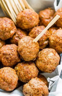 Easy Turkey Meatballs Keto