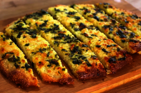 Garlic Bread Recipe – Low Carb and Keto