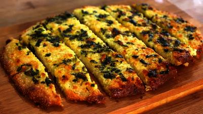Garlic Bread Low Carb Keto