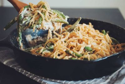 Vegan Green Bean Casserole – Gluten Free Recipe