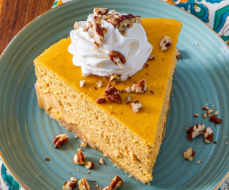 Pumpkin Cheesecake Keto 1