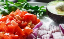 Shrimp Avocado Keto Salad ingredients