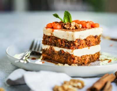 Carrot Cake Vegan and Raw