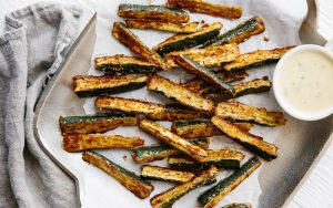 Zucchini Fries Keto Low Carb