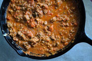 cool sauce Keto Zucchini Bolognese Spaghetti