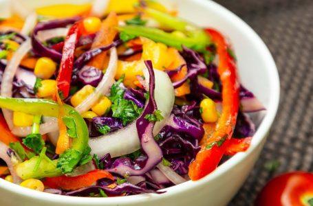 Red Cabbage Salad – Easy Vegan Recipe