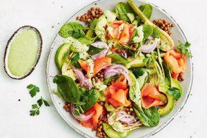 Smoked Salmon Salad Low Calorie