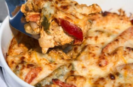 Baked Keto Chicken Fajitas Recipe