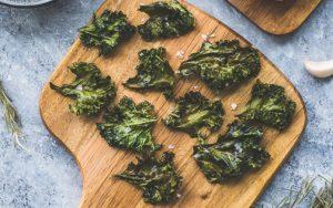 Baked Keto Kale Chips