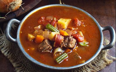 Cooker Vegetable Beef Soup