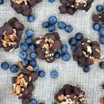 Dark Chocolate Blueberry Clusters