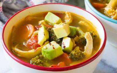 Detox Southwest Chicken Soup Recipe