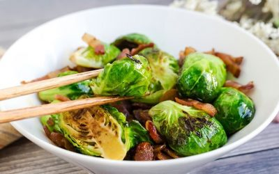 Keto Bacon Brussels Sprout
