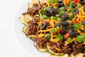 The Vegetarian Zucchini Nachos