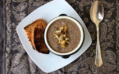 Black Bean Mushroom Soup Recipe