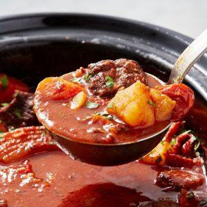 Juicy Slow-Cooker Pepper Steak