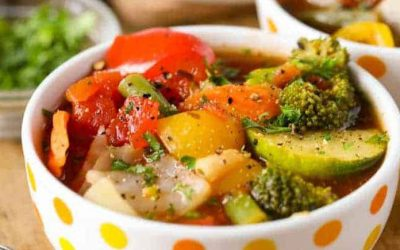 Vegetable Soup for Weight Loss Recipe