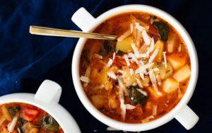 Vegan Classic Minestrone Soup