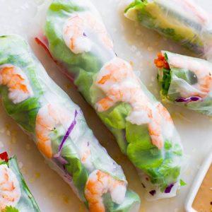 Fresh Vegetable Rolls