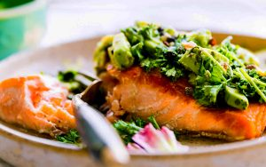Paleo Pan Seared Salmon