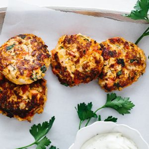 Gluten Free Salmon Patties