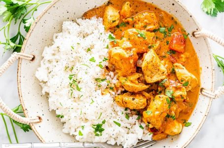 Healthy Creamy Chicken Curry